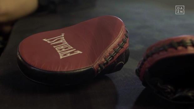 Boxen: DAZN-Experte Klitschko im Training mit Alaba