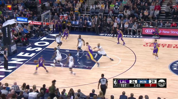 GAME RECAP: Timberwolves 119, Lakers 111