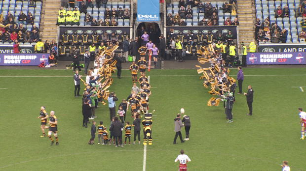 Aviva Premiership - Match Highlights - Wasps v Northampton Saints - Premiership Rugby Cup Round 2