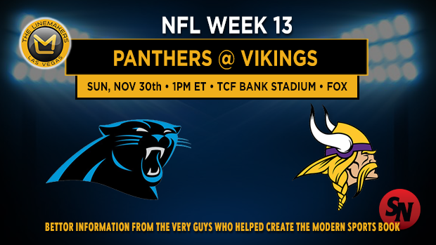 Carolina Panthers @ Minnesota Vikings