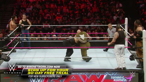 The Shield vs. The Wyatt Family: Raw, Oct. 19, 2015 (WWE Network Exclusive)