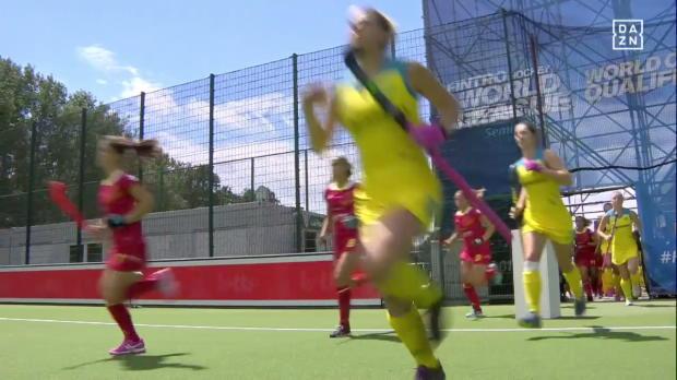Hockey Damen: Australien - Spanien