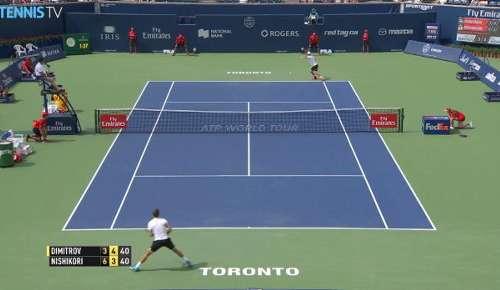 Dimitrov Hot Shot: ATP Toronto QF