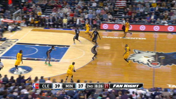 Assist of the Night - LeBron James
