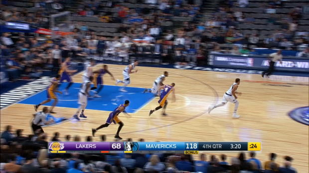 Steal of the Night - Justin Anderson