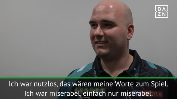 "Darts: Cross: ""Nutzlos, miserabel"" gegen MvG"