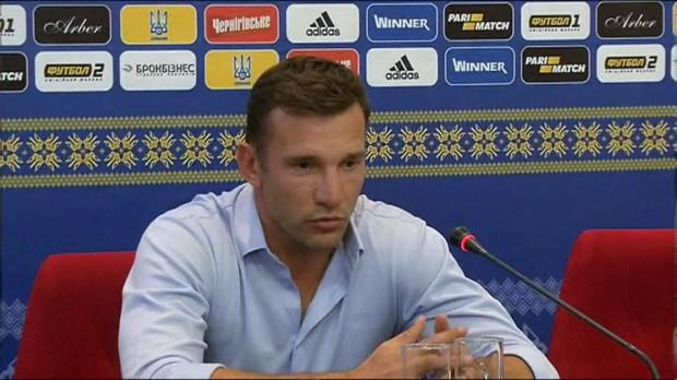 WM-Quali: Shevchenko mit Fußball-Weisheit