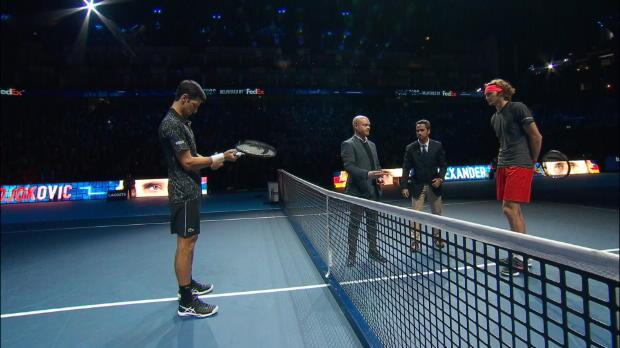 ATP-Finals: Djokovic erteilt Zverev Lehrstunde