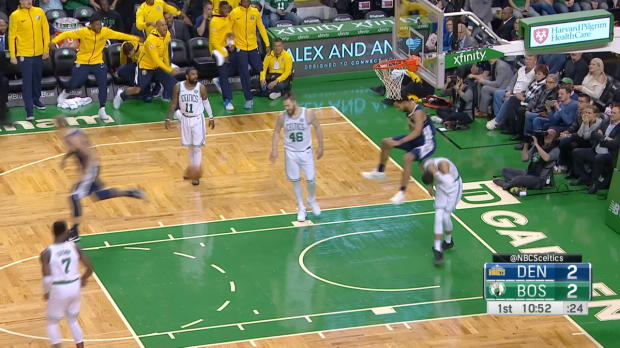 Dunk Of The Night: Trey Lyles