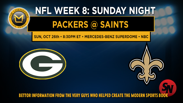Green Bay Packers @ New Orleans Saints