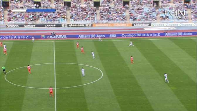 Liga : Real Sociedad 1-1 Valence