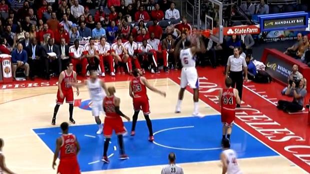 Basket : NBA - Clippers - Griffin offre à Jordan un dunk de folie