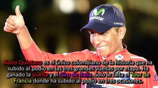 Vuelta a Espa�a: Etapa 21 - Nairo gana la Vuelta