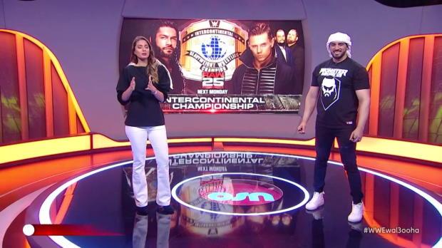 Seth Rollins battles Finn Bálor on Raw: Wal3ooha, 18 January, 2018