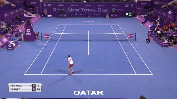Basket : Doha - Pliskova sort Cornet