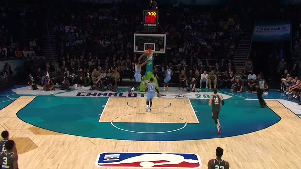 Top 10 Plays from Rising Stars Game