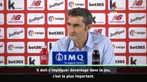 1ère j. - Valverde - 'Griezmann doit s'impliquer davantage'