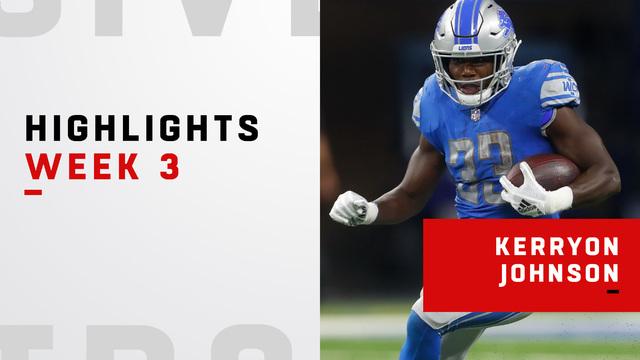 Kerryon Johnson highlights | Week 3