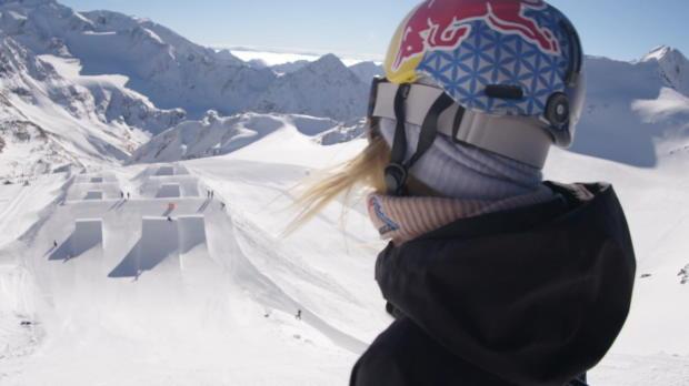 Wow! Diesen Snowboard-Sprung muss man sehen