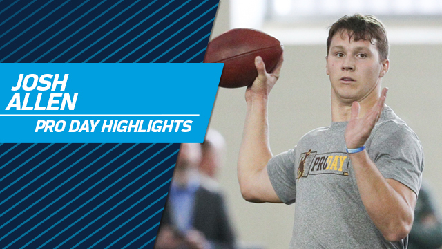 Josh Allen highlights | Wyoming pro day 2018