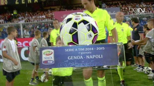Serie A : Genoa 1-2 Naples