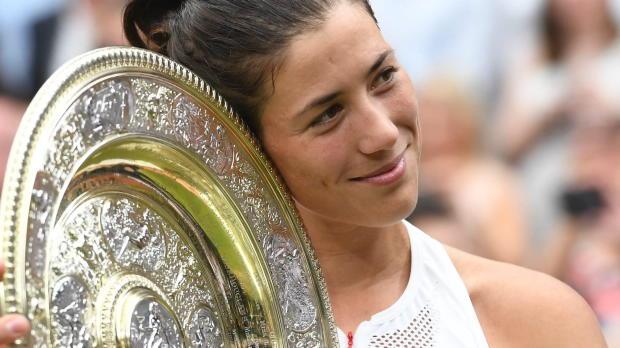 Wimbledon: Das ist Premieren-Siegerin Muguruza