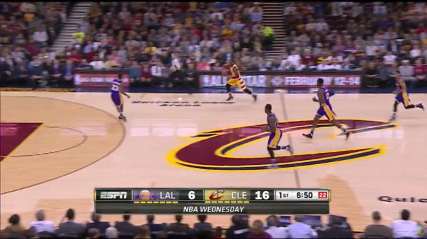 WSc: Highlights: LeBron James (29 points) vs. the Lakers, 2/10/2016