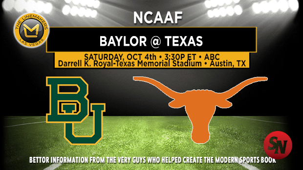 Baylor Bears @ Texas Longhorns