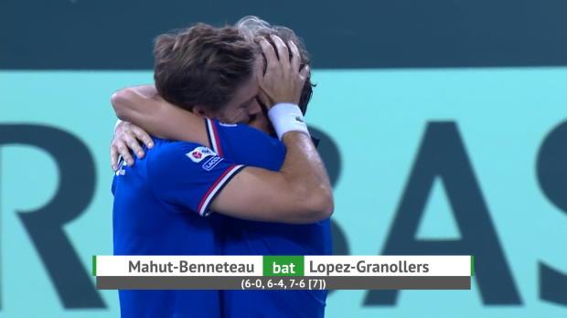 Basket : Demi-finale - Mahut et Benneteau qualifient la France en finale