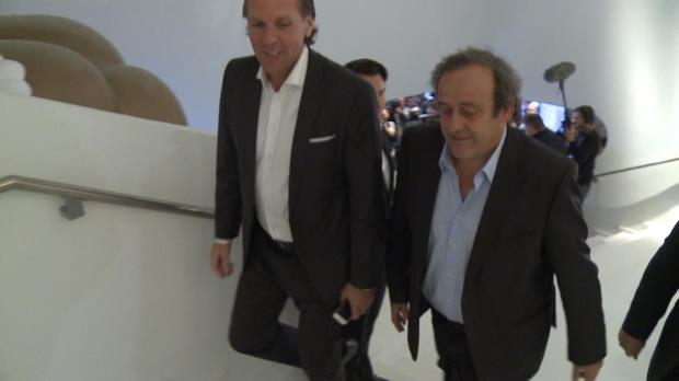 Platini, el favorito para ser presidente de la FIFA
