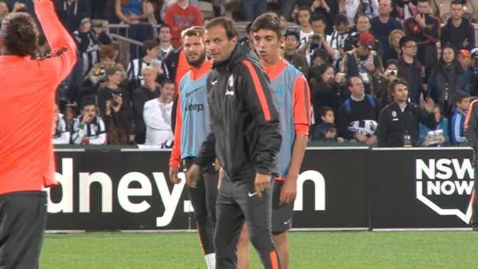 Juventus - Allegri ne s'affole pas
