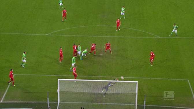 Bundes : Wolfsburg 2-1 Cologne