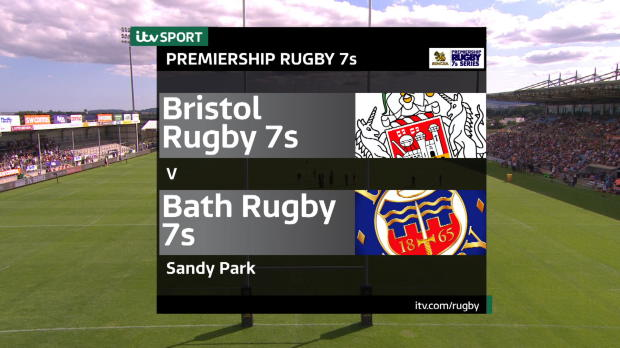 Aviva Premiership - Match Highlights - Bristol Rugby 7s v Bath Rugby 7s