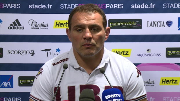 Top 14 - 10e j. : Iba�ez : 'On a eu nos chances'