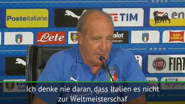 Italien: Ventura überzeugt von WM-Teilnahme