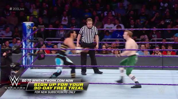 Mustafa Ali vs. Gentleman Jack Gallagher: WWE 205 Live, Feb. 20, 2018