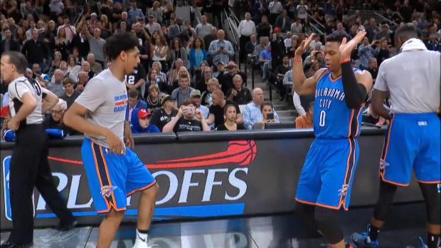 Basket : NBA - Play-offs - Le Thunder égalise sur le fil (98-97)