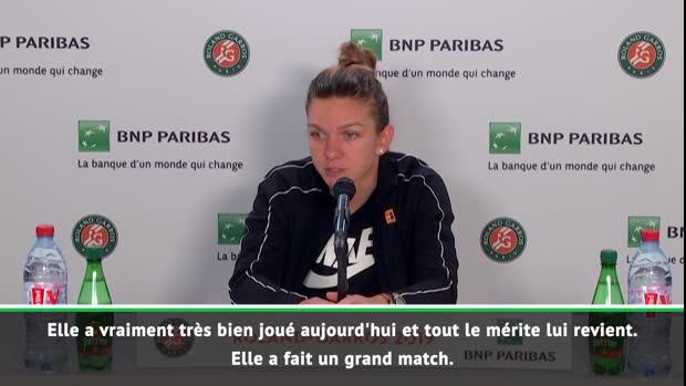 """Basket : Roland-Garros - Halep - """"Tout le mérite lui revient"""""""