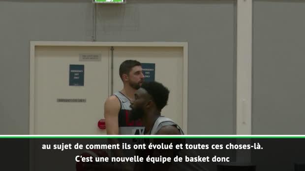 """Basket : États-Unis - Popovich - """"On dîne sans nos téléphones pour que tout le monde se parle"""""""