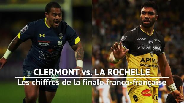 Rugby : Finale - Clermont vs. La Rochelle en chiffres
