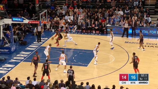 GAME RECAP: Knicks 110, Bulls 92