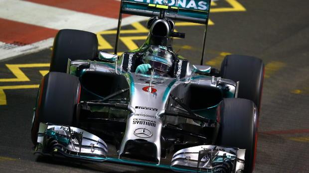 F1 Singapur - Rosberg, un mal d�a en la oficina