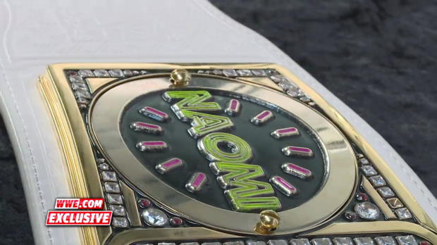 Alexa Bliss gets her custom plates put back on the SmackDown Women's Title: WWE.com Exclusive, Feb. 21, 2017
