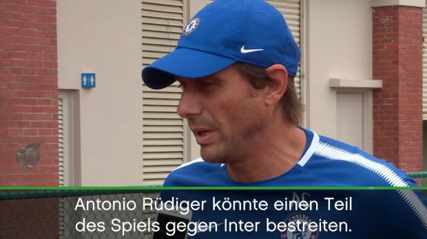 Conte verspricht Rüdigers Chelsea-Debüt