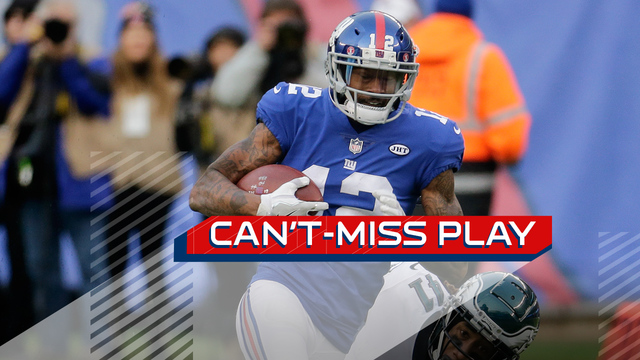Can't-Miss Play: New York Giants wide receiver Tavarres King burns Eagles secondary on turbo TD
