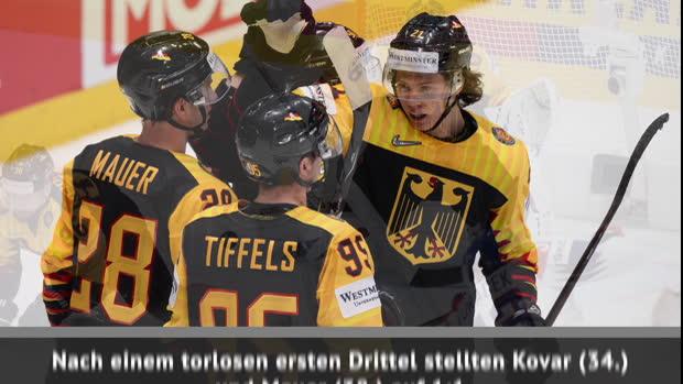 Eishockey: Deutschland unterliegt Tschechien