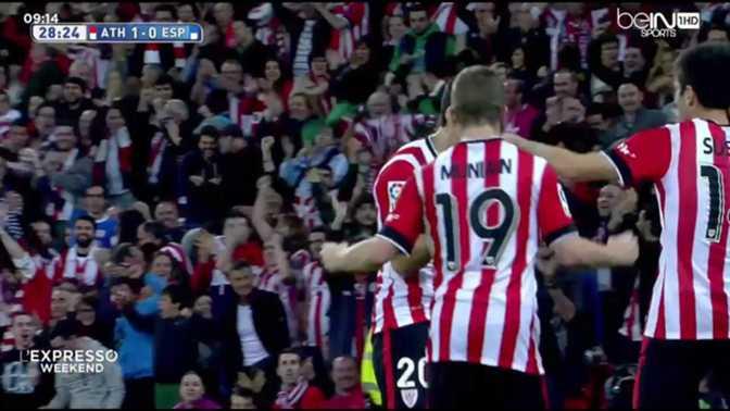 Liga : Athletic Bilbao 3-1 Espanyol
