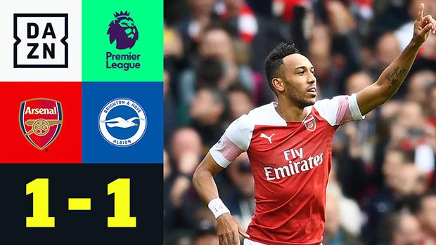 Premier League: Arsenal - Brighton | DAZN Highlights