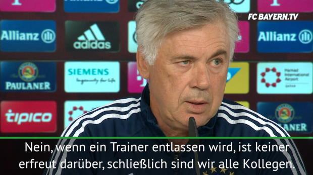 """Ancelotti: """"Entlassungen gehören zum Job"""""""