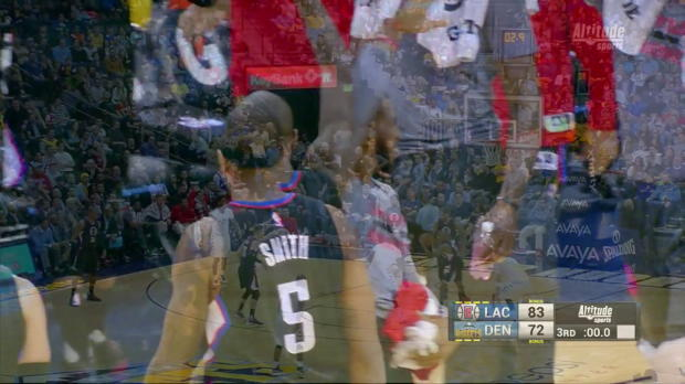 Jamal Crawford beats the buzzer vs. the Nuggets